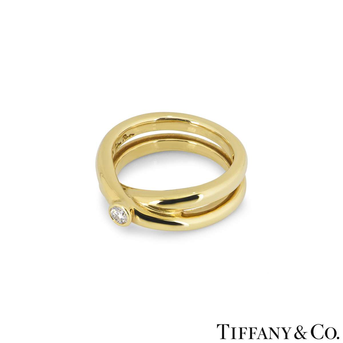 Tiffany & Co. Yellow Gold Paloma Picasso Ring